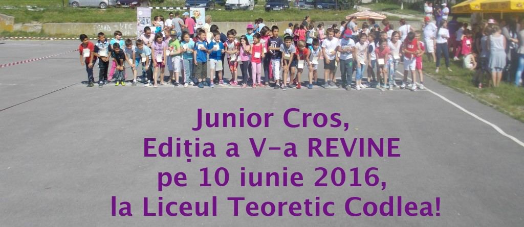 Junior Cros sau despre cum cei mici aleargă pentru o lume specială