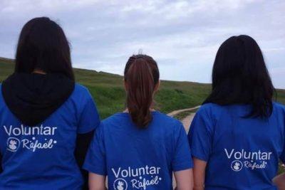 Voluntarii Rafael, alături de voi :)