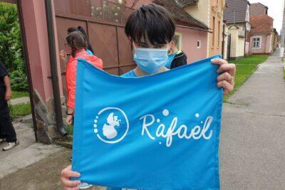 Ștafeta beneficiarilor Rafael